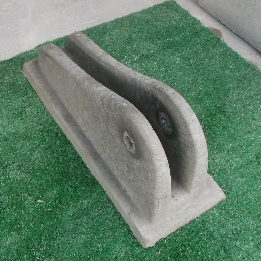Bicicletário de concreto