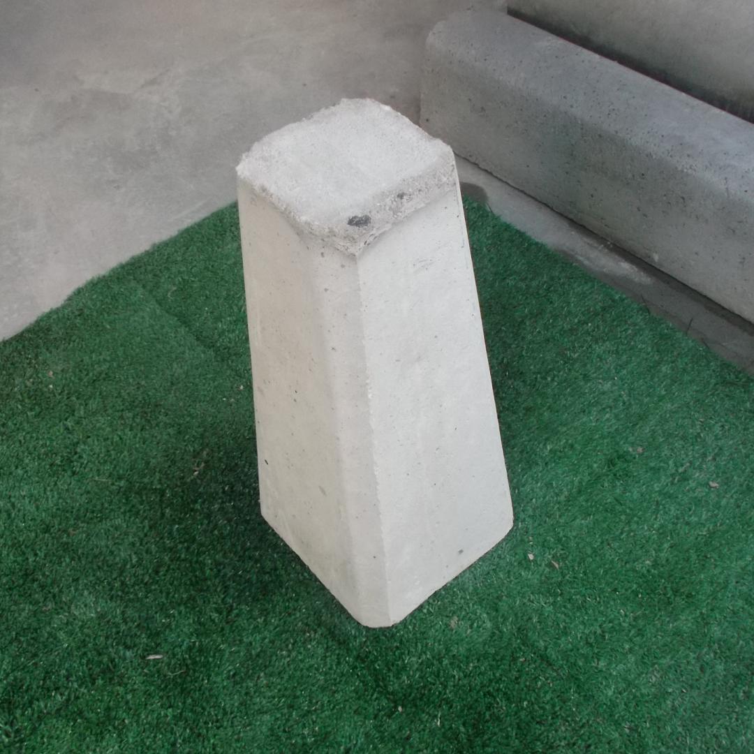 sapata de concreto 0,47x0,22x013