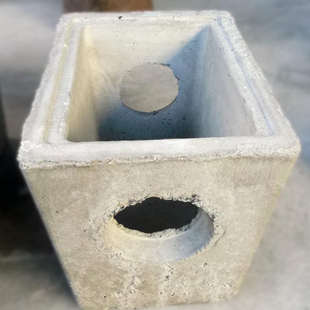 Boca de lobo pequena (dreno) - 0,32x0,24x0,26
