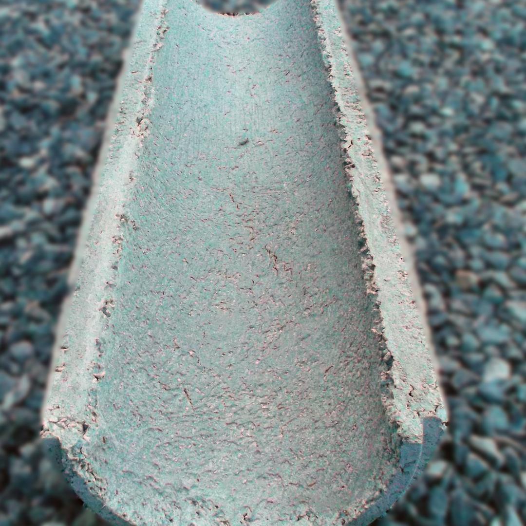 Calha de Concreto 0,20x1,00mt - 0,30x1,00mt